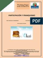 Participación y franquismo