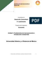 ECONOMIA U3. Fundamentos de Macroeconomia