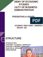 Leader presentation