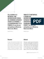 Souza Eduardo De la ciudad a la metropoli.interpretacion de la expancion Monterrey MEXICO.pdf