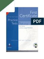First Certificate Practice Tests Plus 2008 Edition-Longman.pdf