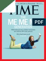The Me Generation -- Printout -- TIME