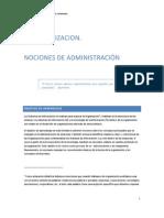 02 Las Organizaciones y Nociones Sobre Administracic3b3n