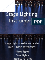 Stage Lighting Instruments