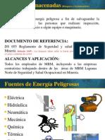 Energías Almacenadas (Bloqueo y Señalización)