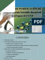 SISTEMA DE PURIFICACIÓN DE AGUA Thermo Scientific Barnstead