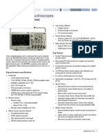 MDO3000 Oscilloscope Datasheet