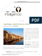Copenhague, Capital Neutra en Carbono