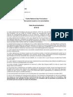 Cadre National Des Formations Version 2013-11-06