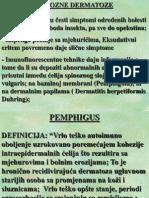 1. Bulozne dermatoze