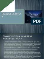 PRESAS HIDROELECTRICAS