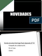 NOVEDADES LICEO 4
