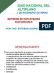 59497301 Metodos de Explotacion Subterranea