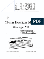 TM 9-732B 75-Mm Howitzer Motor Carriage M8 1944
