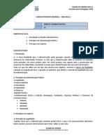 ES Direito Administrativo Aula01