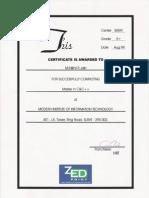 Master in C & C++ Certificate