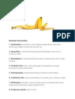 Banánhéj felhasználása