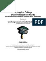 2008congress woman scholarship guide