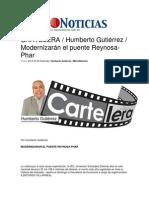 25-02-2014 Metro Noticias - Modernizarán el puente Reynosa-Phar