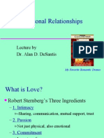 In Interpersonal Relationships
