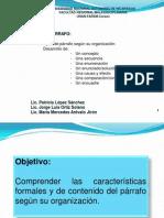 9.Conferencia Parrafos organizativos