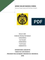 cover makalah Plural dalam Bahasa Sunda