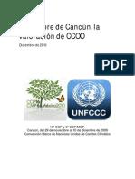Doc30020 La Cumbre Del Clima de Cancun, Segun CCOO
