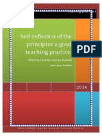 Morena Lemus Self- Reflexion About a Good Teaching Practice