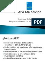 APA Estructura y Formato 6th ed.