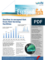 Factsheet Escaped fish