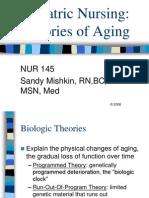 Geriatric Nursing Theories of Aging