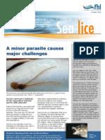 Factsheet on sea lice