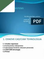 1_Osnove CAD-CAM Tehnologija