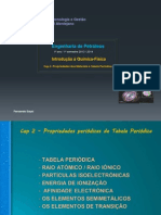 Cap 2 -Propriedades Periodicas Da TP