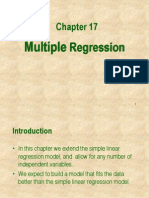 Ch18 Multiple Regression