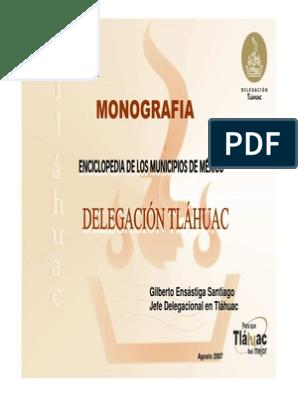 Monografia Tlahuac Ciudad De México Carnaval
