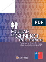 Equidad de Genero en La Juventud