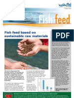 Factsheet about fish feed