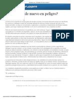 EDH - Edit Chang - El Salvador de Nuevo en Peligro - 03 01 14
