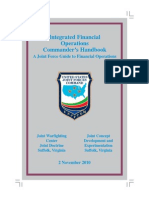 Integrated Financial Operations Commander's handbook, A Joint Guide to Financial Operations (2013) USJFCOM