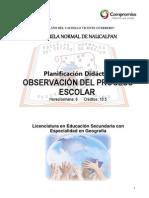 Planif de Observ Del Proc Escolar Sem 2 Geogr Gil1