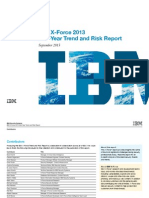 IBM - Trend and Risk Report Mid Year 2013