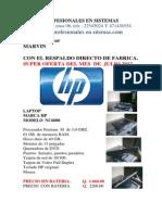 LAPTOP  HP  6000