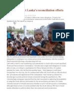 Doubts Over Sri Lanka's Reconciliation Efforts