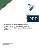 Desarrollando Mujeres Empresarias PYMES