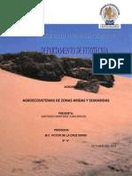 Agrositemas Aridos y Semiaridos