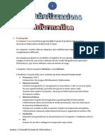 Alfabetizzazione Informatica 1
