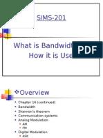 Bandwidth Chapter16
