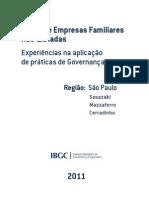 Estudo de Caso - Empresas Familiares Não-Listadas