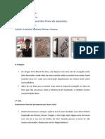 Relatório de Visita - Pré bienal de artes